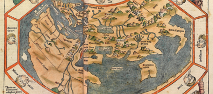 Carte du Monde en période antique