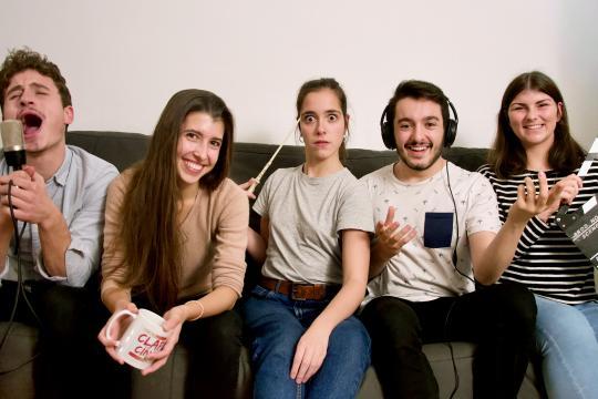 Sébastien Fanet, Paula Fréson, Lou Howard, Aurélien Rapatel et Elsa Morel